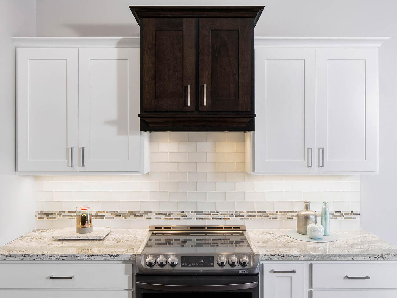Cabinets: Tundra On Lancaster Door U003cbru003e Island: Kona Maple *Hood Built